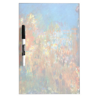 Leicester Square at Night Claude Monet fine art Dry-Erase Whiteboards