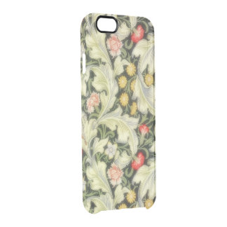 Leicester Vintage Floral Clear iPhone 6/6S Case