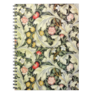 Leicester Vintage Floral Spiral Notebook