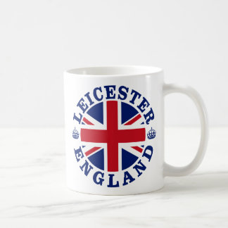 Leicester Vintage UK Design Coffee Mug