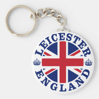 Leicester Vintage UK Design Keychain