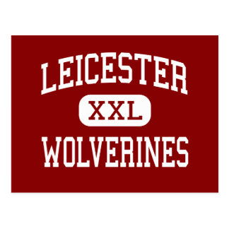Leicester - Wolverines - High - Leicester Postcard