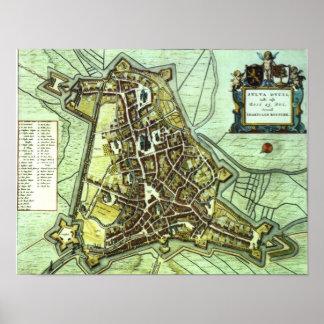 Leiden - 1652 poster