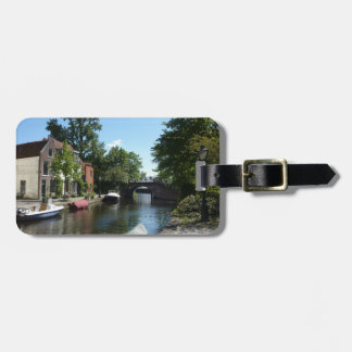 Leiden Canal Luggage Tag