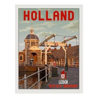 Leiden - Morspoortbrug Postcard