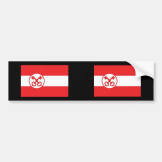 Leiden, Netherlands Car Bumper Sticker