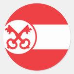 Leiden, Países Bajos Etiquetas Redondas