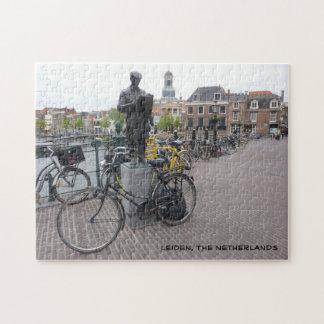 Leiden (Statue & Bikes) Jigsaw Puzzle