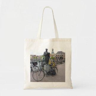 Leiden (Statue & Bikes) Tote Bag