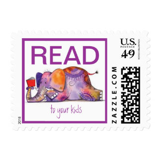 Leído a sus sellos de los niños