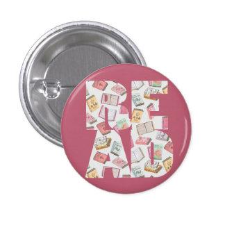 LEÍDO (botón #1) Pin Redondo De 1 Pulgada