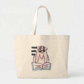 leído conmigo el perro bolsa