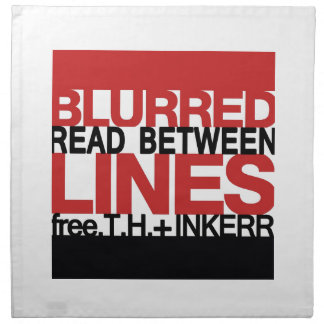 Leído entre el Bl líneas urred Servilletas