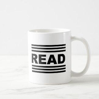 Leído entre las líneas taza de café