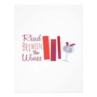 Leído entre los vinos membrete