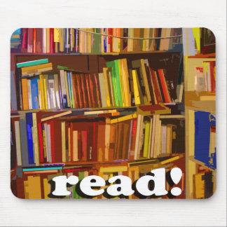 ¡Leído! Foto Alfombrilla De Ratón