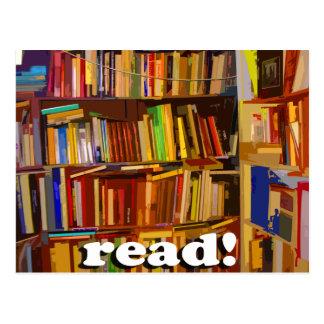 ¡Leído! Foto Postal