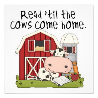 Leído 'hasta las vacas vuelva a casa anuncio personalizado