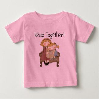 Leído junto - mamá y camisetas y regalos del chica remera