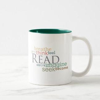 Leído, la búsqueda, se imagina la taza (la luz)