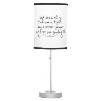 Leído me una historia me remete citas apretadas lámpara de escritorio