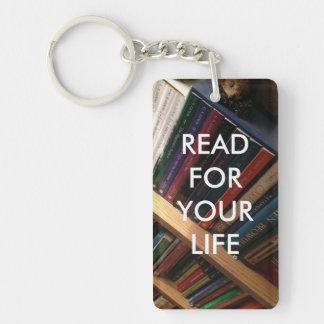 """""""Leído para llavero de su vida"""""""