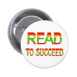 Leído para tener éxito pins
