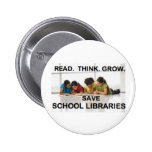 Leído piense crecen - las bibliotecas escolares de pin