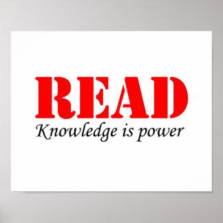 Leído Póster