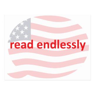 Leído sin fin postal