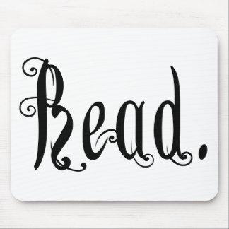 Leído (Ver 2) Alfombrilla De Raton