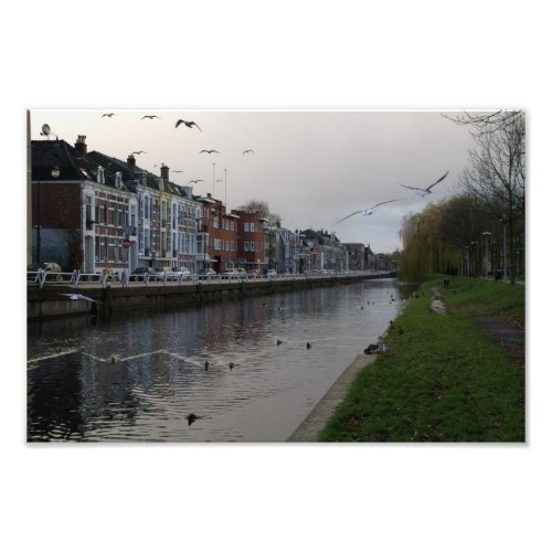 Leidse Rijn canal, Utrecht