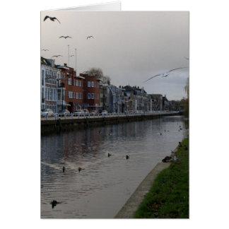 Leidse Rijn canal, Utrecht Card