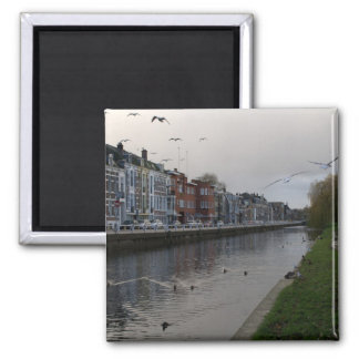 Leidse Rijn canal, Utrecht Fridge Magnets