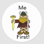 """Leif Erikson  """" Me First"""" Stickers!"""
