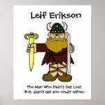Leif Erikson Poster
