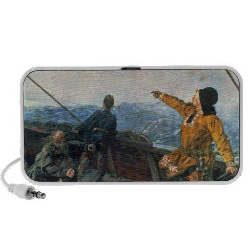 Leif Eriksson ve la tierra en América, 1893 iPhone Altavoces