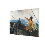 Leif Eriksson ve la tierra en América, 1893 Lona Estirada Galerías