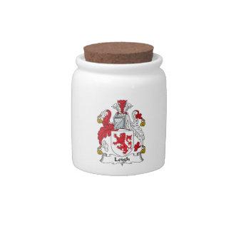 Leigh Family Crest Candy Jar