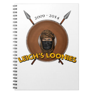 Leigh's Loonies Spiral Note Book