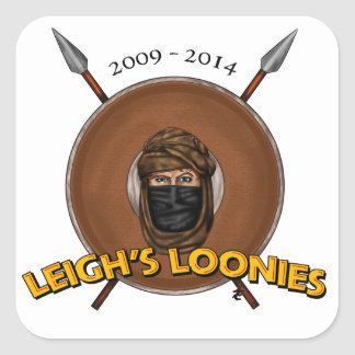 Leigh's Loonies Stickers