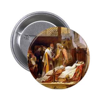 Leighton-Reconciliación de Federico de Montagues Pin Redondo De 2 Pulgadas