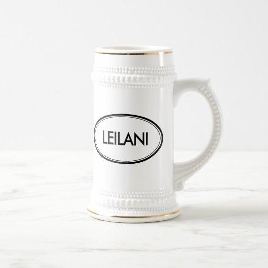 Leilani Beer Stein