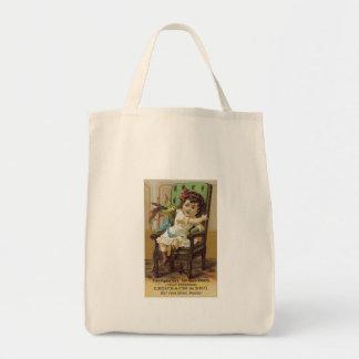 Leinbach and Bros Overcoats Canvas Bag