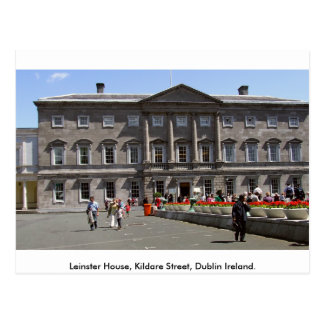 Leinster House, Kildare St. Dublin City, Ireland Postcard