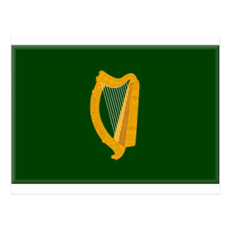 Leinster (Ireland) Flag Postcard