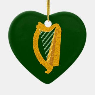 Leinster, Irlanda Adorno De Cerámica En Forma De Corazón