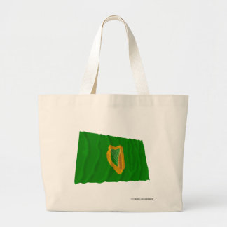 Leinster Province Waving Flag Tote Bag
