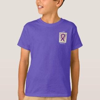 Leiomyosarcoma Awareness Ribbon Angel Custom Tee