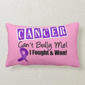 Leiomyosarcoma Cancer Can't Bully Me...I Won Throw Pillow